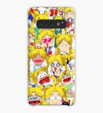 Usagi's faces Case/Skin for Samsung Galaxy