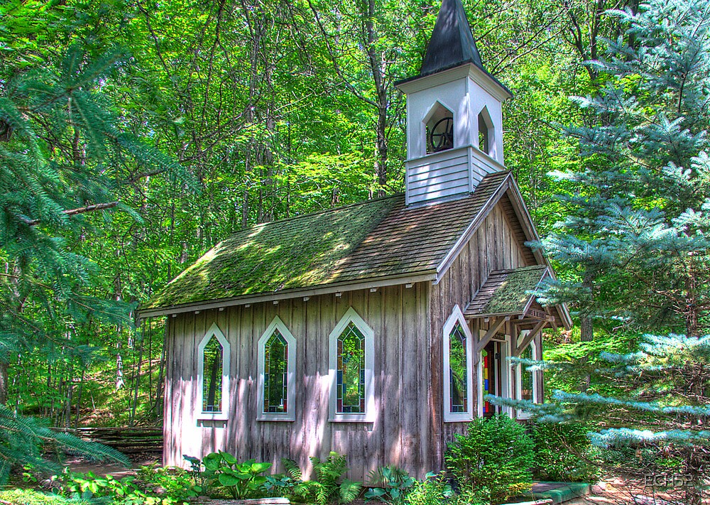Quot Little Chapel In The Woods Quot By Ech52 Redbubble