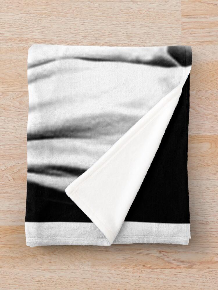 Alternate view of leonardo dicaprio Throw Blanket
