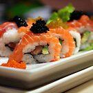 Sushi art by Jenny Hall