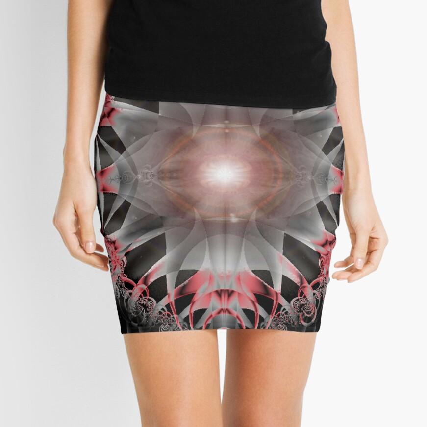 Black Stones Mini Skirt