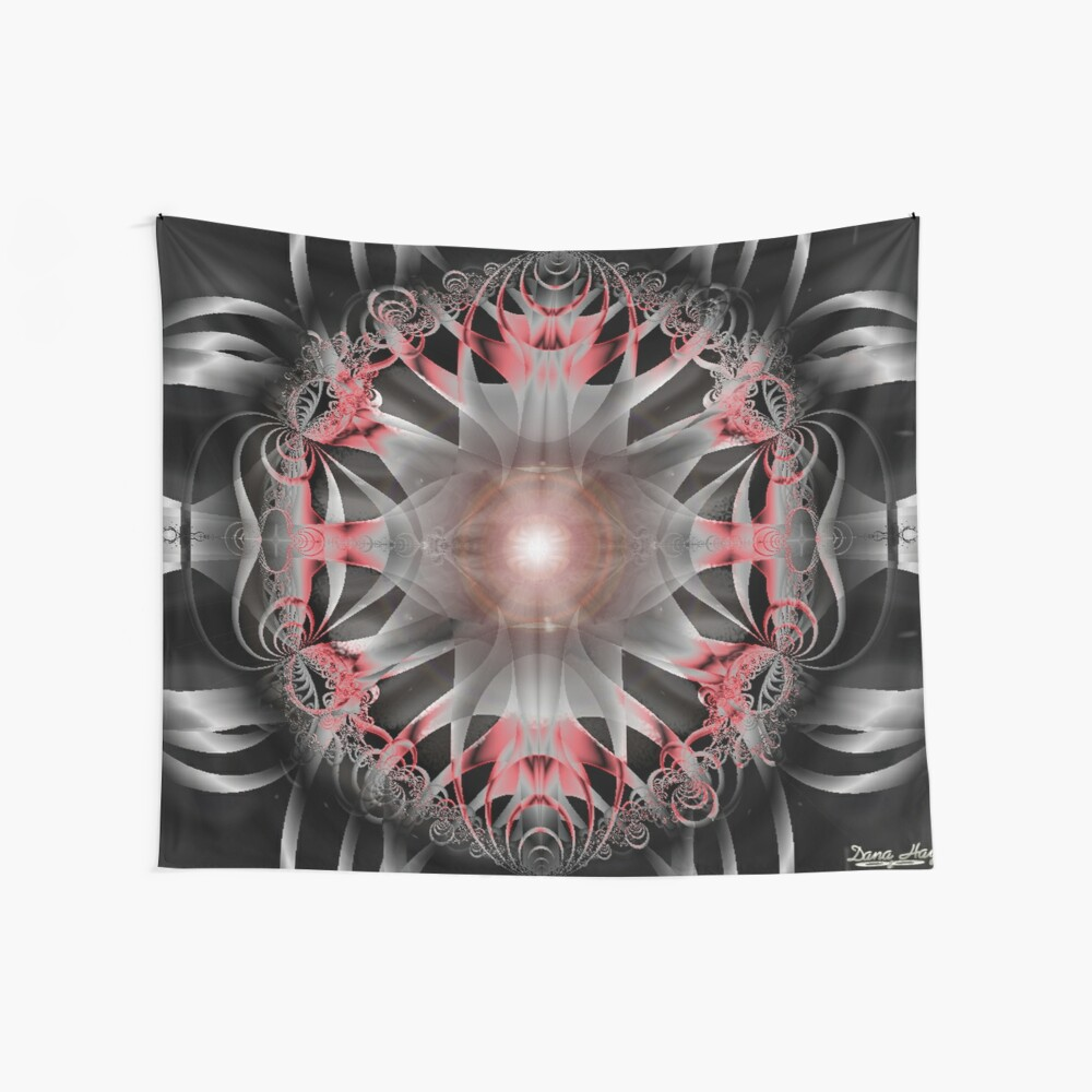 Black Stones Wall Tapestry