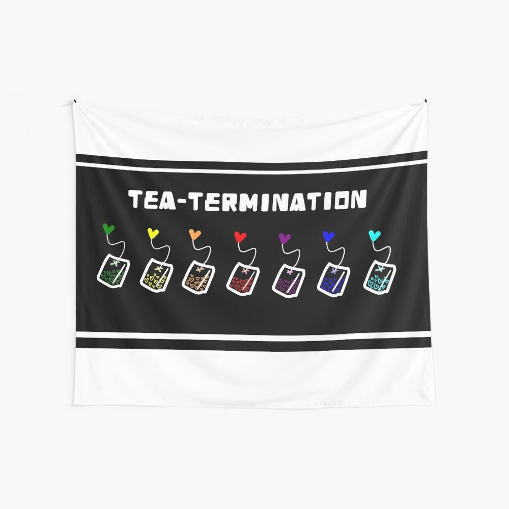 TEA-TERMINACIÓN Tela decorativa
