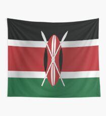 Kenia Flagge Wandbehang