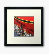 Figurative reality Framed Print