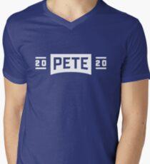 Camiseta de cuello en V Pete 2020