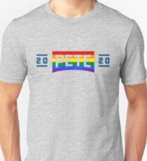 Pete 2020 (lgbt colors) Unisex T-Shirt