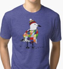 Chilli the Seagull Tri-blend T-Shirt