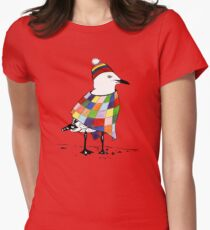 Chilli the Seagull Womens Fitted T-Shirt