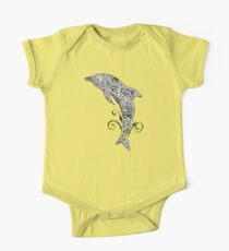 Dolphin Doodle One Piece - Short Sleeve
