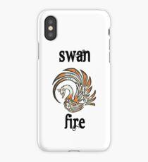 Swan Fire Merchandise iPhone Case/Skin
