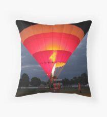 Balloon Fiesta at Renmark Throw Pillow
