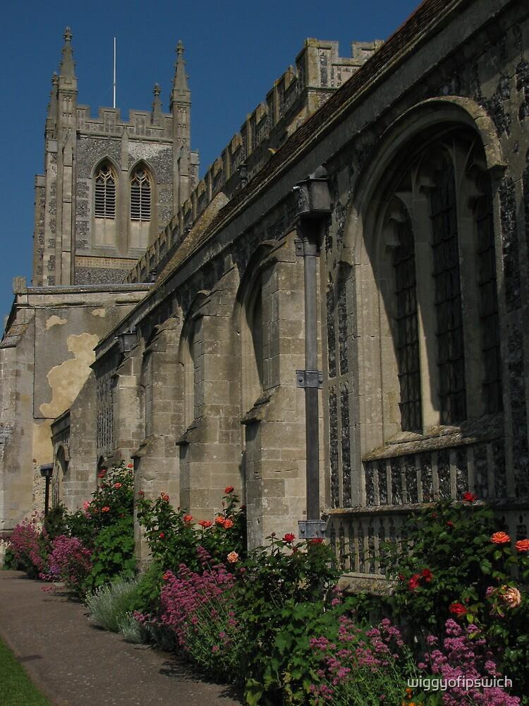 Church Yard Flowers, Long Melford, Suffolk by wiggyofipswich