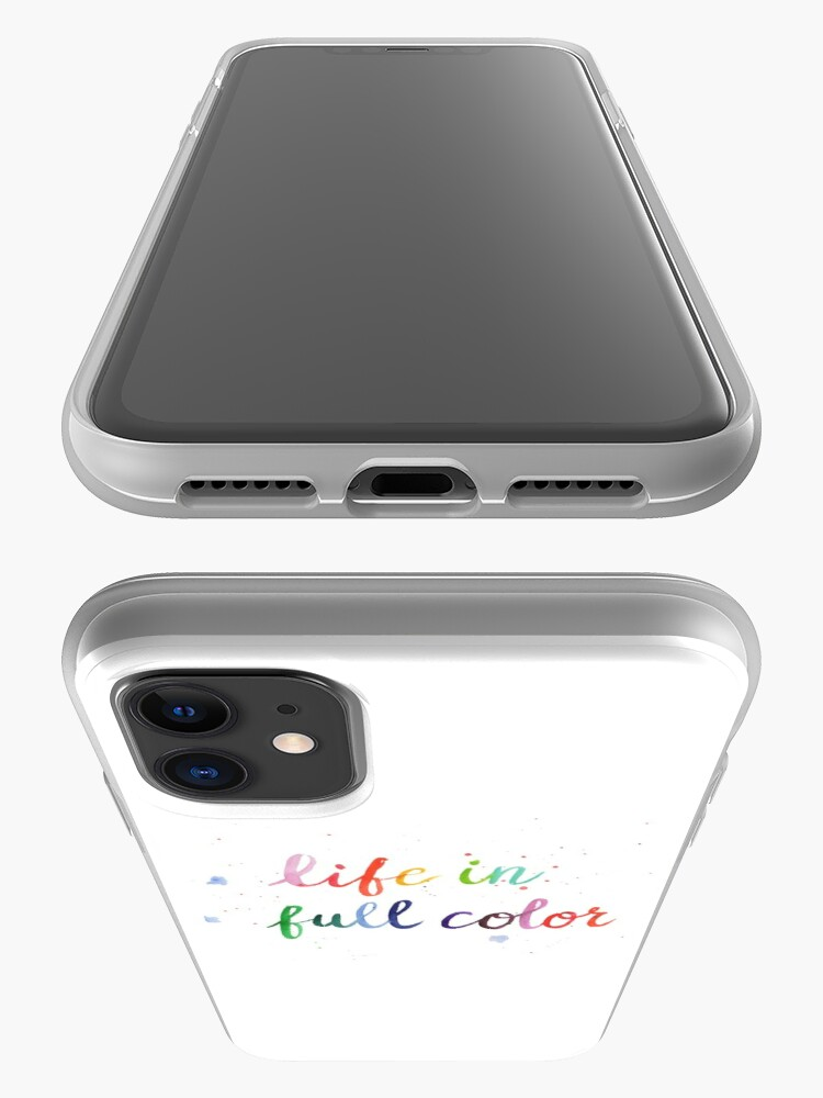 Alternate view of Life in Full Color iPhone Case & Cover