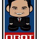 Rubio'bot Politico'bot Toy Robot 2.0 by Carbon-Fibre Media