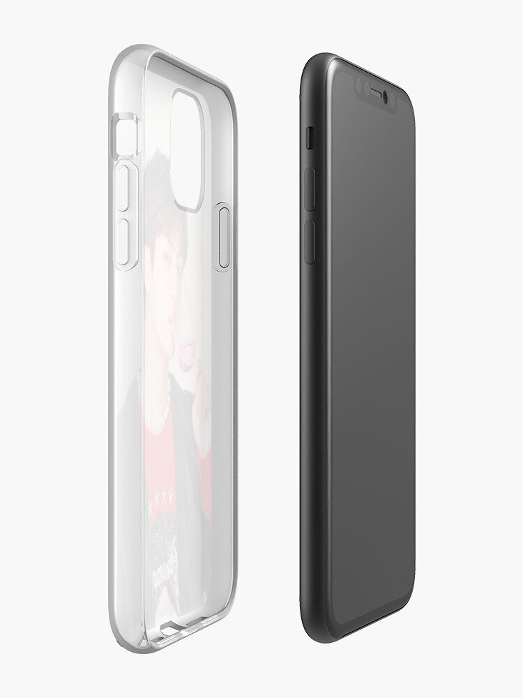 Coque iPhone «Jin ♡ Persona», par okMafia