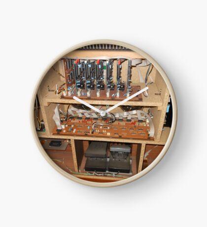 Die Eingeweide der Orgel Uhr
