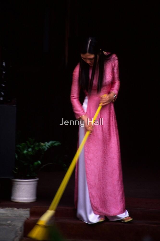 Pink aoi dai by Jenny Hall
