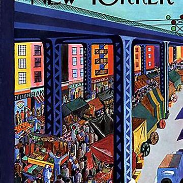 Vintage New Yorker Cover - Circa 1935-2 by marlenewatson