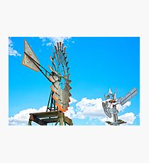 Wacky Windmills.... Photographic Print
