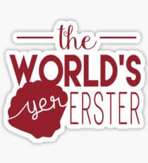 The World's Yer Erster Sticker