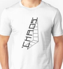 Chaos is a Ladder Slim Fit T-Shirt