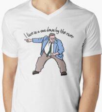 Matt Foley Van Down By The River V-Neck T-Shirt