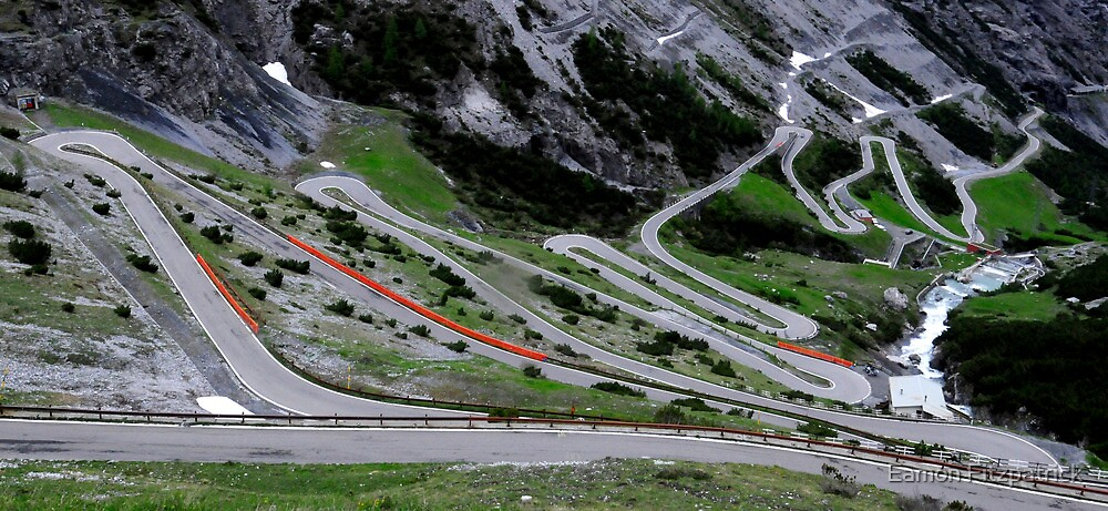 Stelvio Pass - Worlds Best Driving Road by Eamon Fitzpatrick