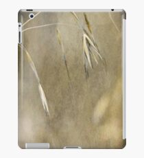 Blooming and seeding  iPad Case/Skin