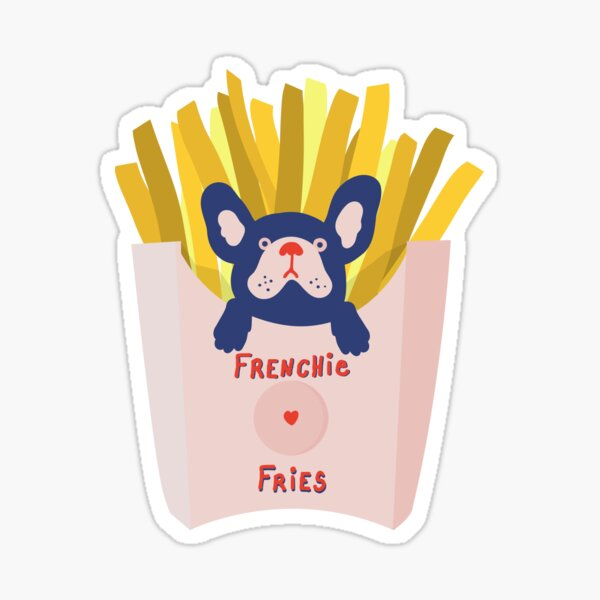 French Bulldog Sticker Sticker