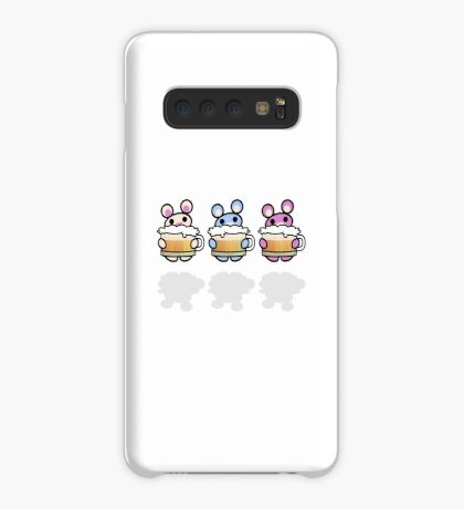 Three Chibis: Beer Case/Skin for Samsung Galaxy