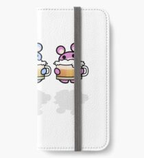 Three Chibis: Beer iPhone Wallet/Case/Skin