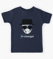 I am the Archangel (with white text) Kids Tee