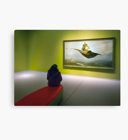 Flying carpets. Canvas Print