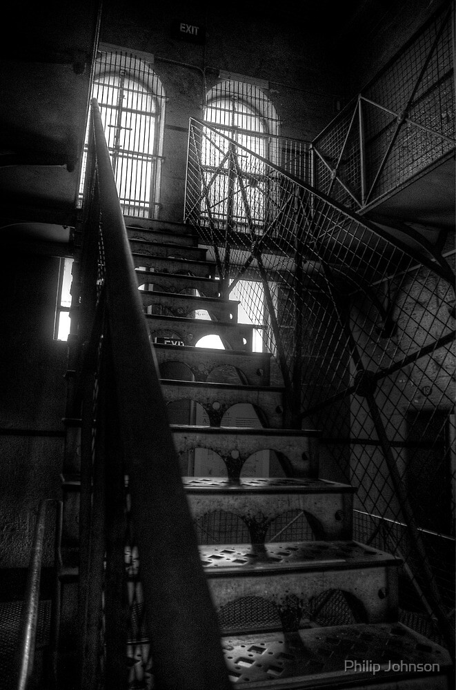 Dead Man Walking - Old Melbourne Gaol, Melbourne - The HDR Experence by Philip Johnson