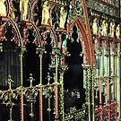 Choir & High Altar Lichfield Purchased Woodmansterne England 19840926 0066P  by Fred Mitchell
