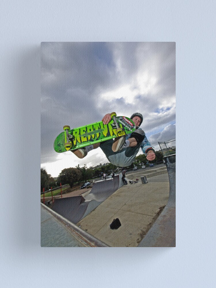 Alternate view of Front side air Canvas Print