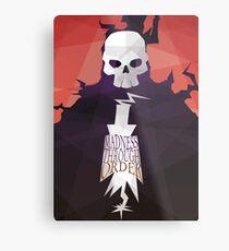 Madness Through Order - Soul Eater Print Metal Print