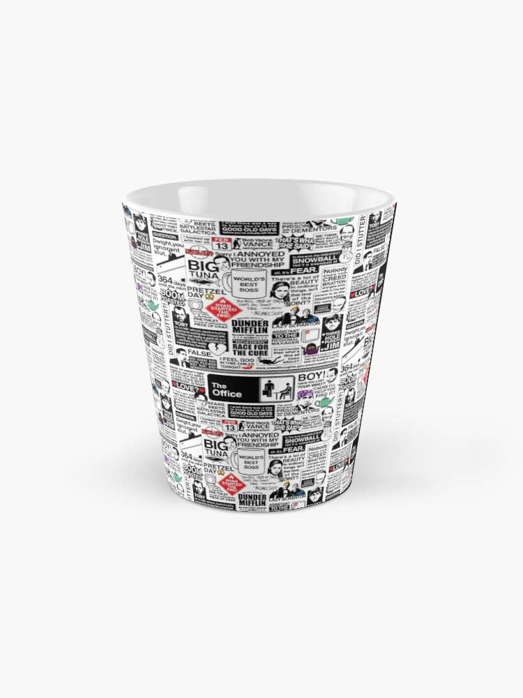 Alternate view of Wise Words From The Office - The Office Quotes (Variant) Mug