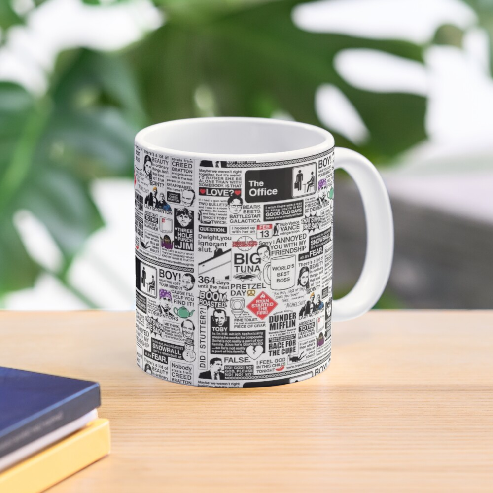 Wise Words From The Office - The Office Quotes (Variant) Mug