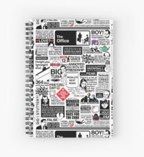Wise Words From The Office - The Office Quotes (Variant) Spiral Notebook