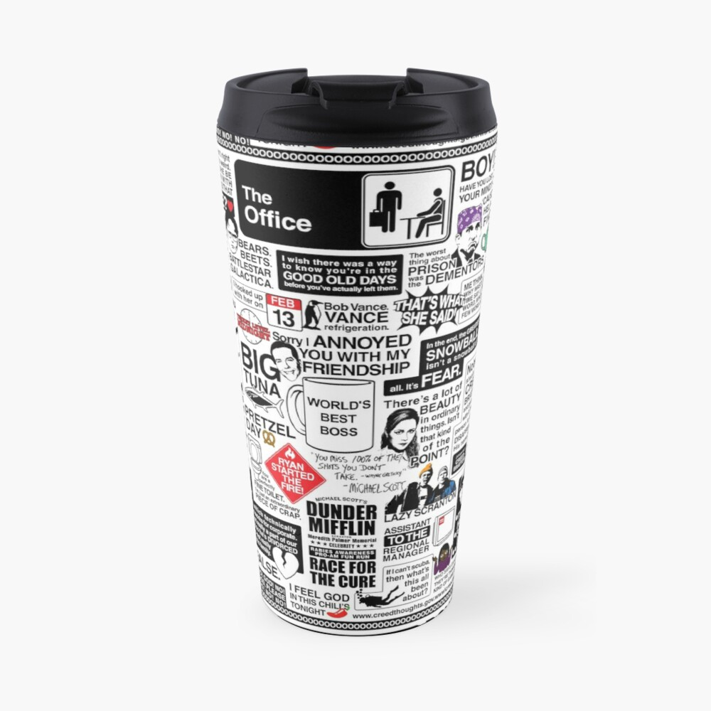 Wise Words From The Office - The Office Quotes (Variant) Travel Mug
