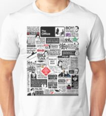 Wise Words From The Office - The Office Quotes (Variant) Slim Fit T-Shirt