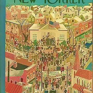 Vintage New Yorker Cover - Circa 1944-3 by marlenewatson