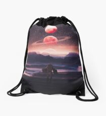 Not A Home Drawstring Bag
