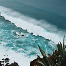 Turquoise Ocean Waves  by AlexandraStr