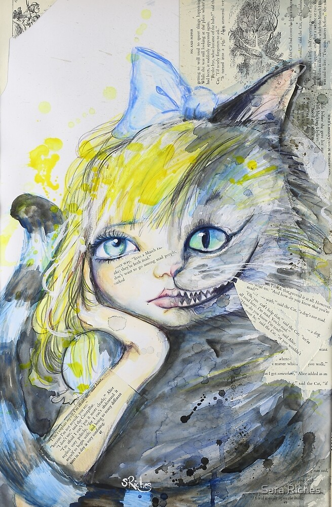 We're All Mad Here by Sara Riches