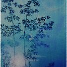 Blue bamboo by Digby