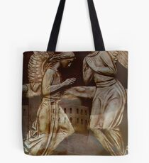 He Shall give His angel's  charge over  you    Tote Bag