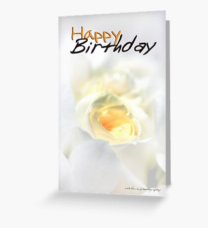 Happy Birthday © Vicki Ferrari Greeting Card